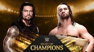 Roman Reigns vs. Seth Rollins - Night of Champions - WWE 2K14 Simulation