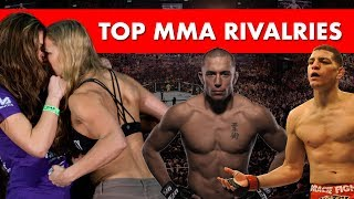 The Top 10 Rivalries in MMA thumbnail