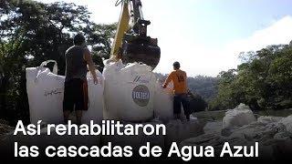 Conagua rehabilita las cascadas de Agua Azul en Chiapas - En Punto con Denise Maerker thumbnail