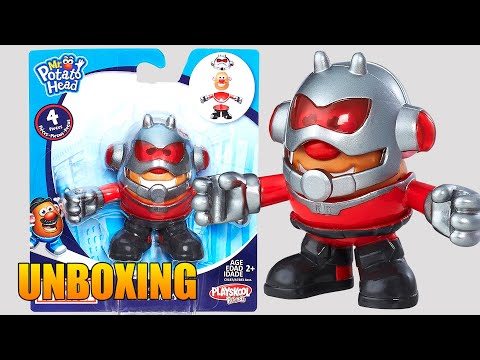 Mr Potato Head Ant Man Playskool heroes Señor Cara de Papa