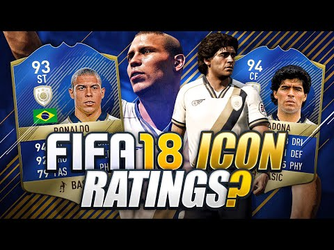 FIFA 18 ICON RATINGS?