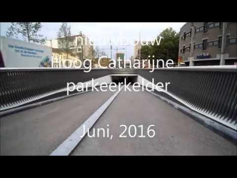 Oplevering parkeergarage Hoog Catharijne Utrecht.