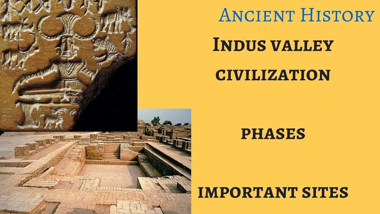 Ancient History Indus Valley Civilization Phases Sites
