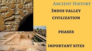 Ancient History: Indus Valley Civilization: Phases, Sites for UPSC IAS, NDA, CDS, KPSC, MPSC, UPPSC