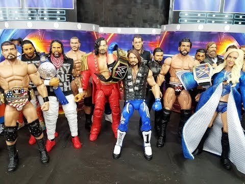 WWE Clash Of Champions 2017 Predictions | WWE Figures