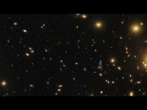Panning across the galaxy cluster A1725N