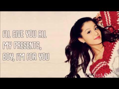 Ariana Grande - Not Just On Christmas (Lyrics)