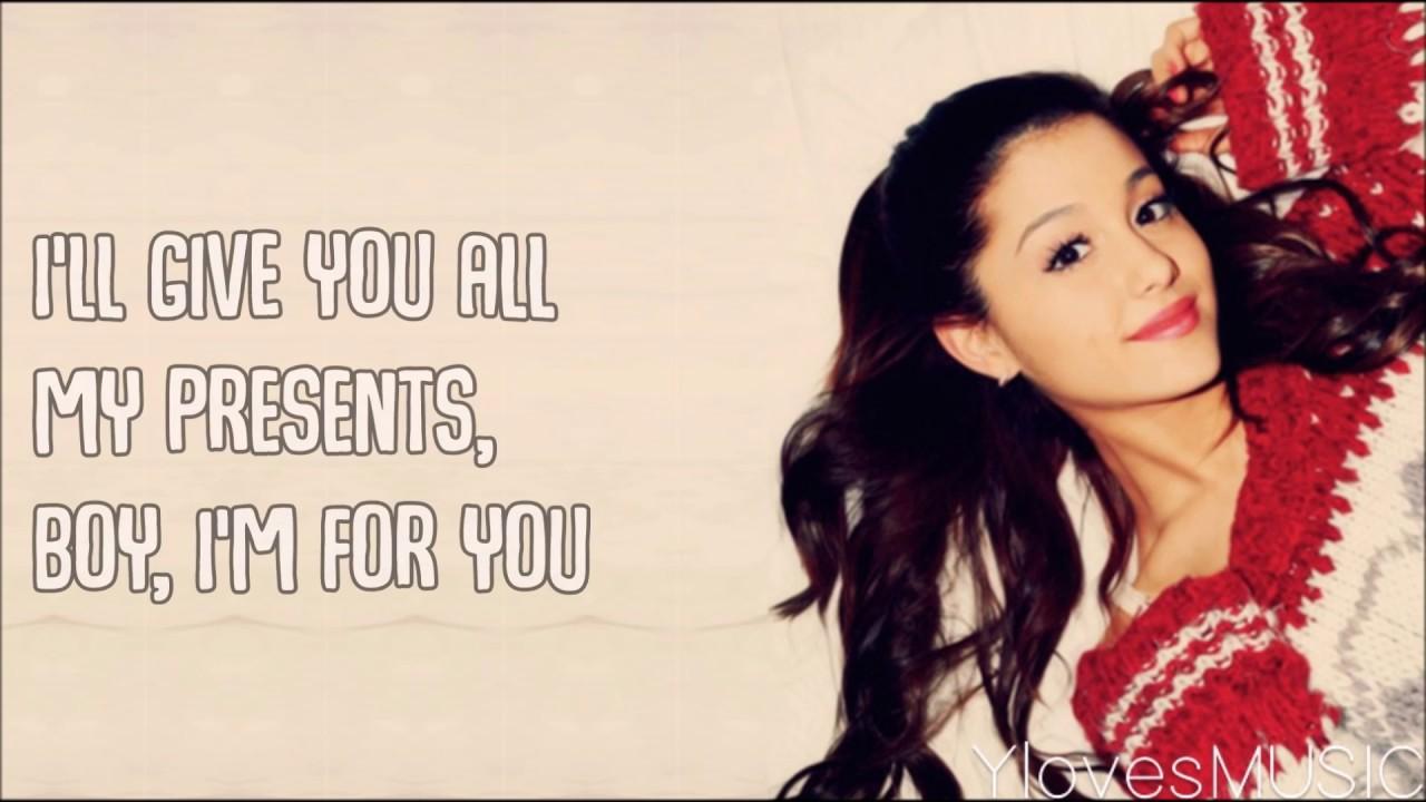 Ariana Grande - Not Just On Christmas (Lyrics) - YouTube