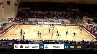 Danville vs Elliott County - Boys ALL A State Basketball Tournament