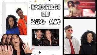LUCA 'ZEG MIJ' VIDEOCLIP BACKSTAGE!!!! | Laura Ponticorvo |