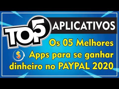 TOP 5 MELHORES APLICATIVOS PARA GANHAR DINHEIRO NO PAL | 2020✔️