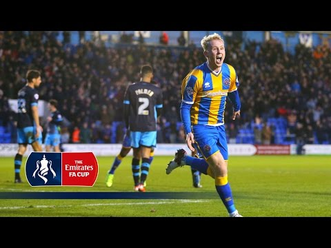 Shrewsbury 3-2 Sheff Wed - Emirates FA Cup 2015/16 (R4) | Goals & Highlights