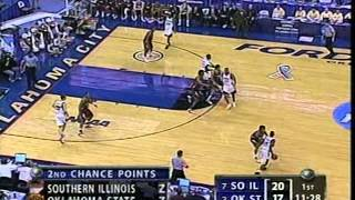 Southern Illinois vs. Oklahoma State, 2005 NCAA Tournament, first half