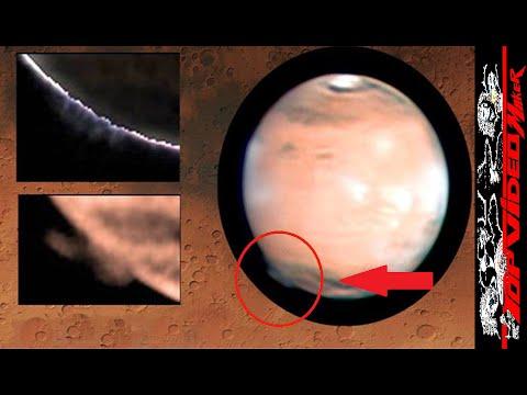 NUBE GIGANTE EN MARTE - GIGANTIC CLOUD ON MARS - NUBE DE 1000 KM - TOPVIDEO MAKER
