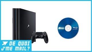 Pourquoi la PS4 Pro n'a-t-elle pas de lecteur Blu-ray UHD ? DQJMM (2/3)