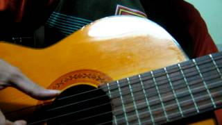 Lời chưa nói demo-guitar cover by José Arsène