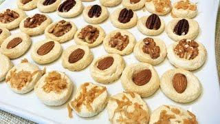 ХРУСТЯЩЕЕ ПЕЧЕНЬЕ БЕЗ МУКИ   4 вида  за 5 минут+ выпечка( два ингредиента). Crispy Cookies.