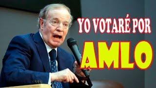 José Ramón asegura que votará por AMLO