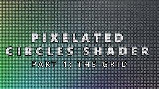 pixelated vertex shader
