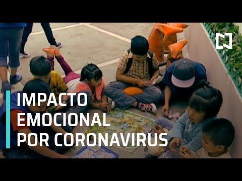 COVID-19, impacto emocional en niños - Sábados de Foro