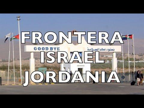 CRUZAR LA FRONTERA ENTRE ISRAEL Y JORDANIA | EL ATLAS DE JON