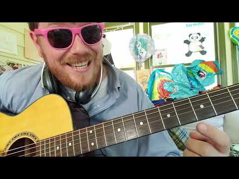 Mike Posner - Song About You // easy guitar tutorial for beginners