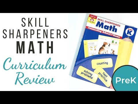 Math Curriculum Review - Evan-Moor Pre-K Workbook