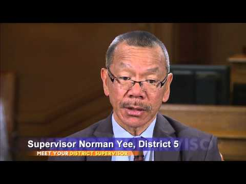 Meet Your District Supervisor: Norman Yee - District 7