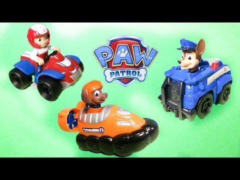 PAW PATROL Nickelodeon Paw patrol Ryder, Chase, & Zuma Paw Patrol Video Review
