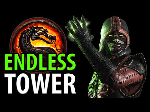 """DAT DAMAGE!!"" - ERMAC Endless Tower! - Mortal Kombat X [HD 60fps]"