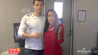 From @GeneralHospital @KrisAlderson & @Duelly87 #behindthescenesvideo @homeandfamilytv