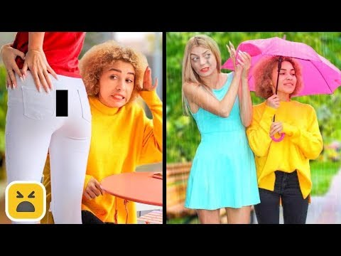BEST Friends Vs FAKE Friends Pranks! Relatable Facts & More