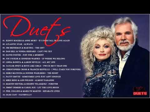 James Ingram, David Foster, Peabo Bryson, Dan Hill, Kenny Rogers - Best Duets Love Songs
