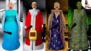 All the Mods of Granny ► by Abegi Jo ► ELSA (Frozen) ►  The evolution №9