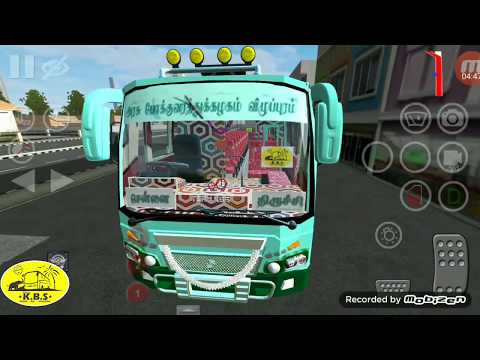 TNSTC Bus Driving Game For Mobile(BUSSID)||TeamKBS Mods