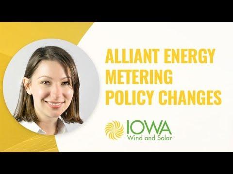 Alliant Energy Net Metering Policy Changes Webinar