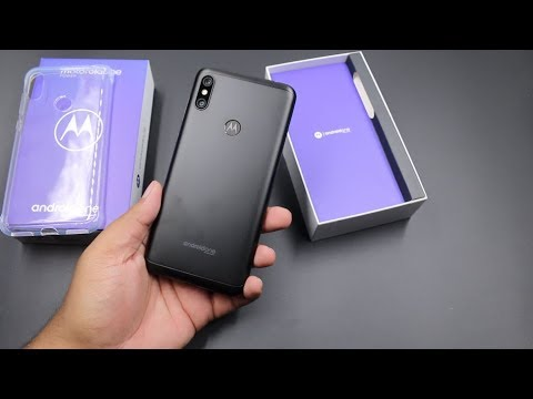 Motorola One Power Unboxing, Hands On, Camera, Features, Gaming