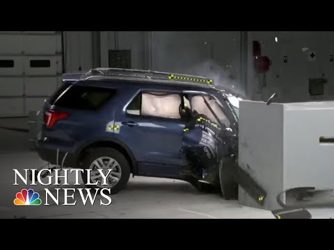 Beware Riding In The Front Seat Of These Popular SUVs | NBC Nightly News
