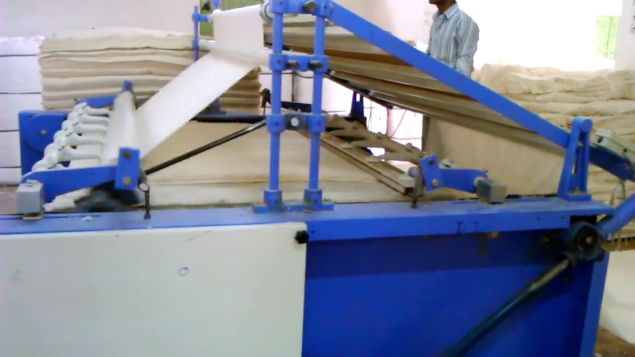 45e8ea73827 Fabric folding machine - YouTube