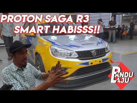 """Livery"" Baru Proton Saga R3, Ganas Habis!"
