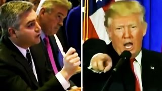Trump Calls CNN Fake News, Won't Take Reporter's Question At Press Conference