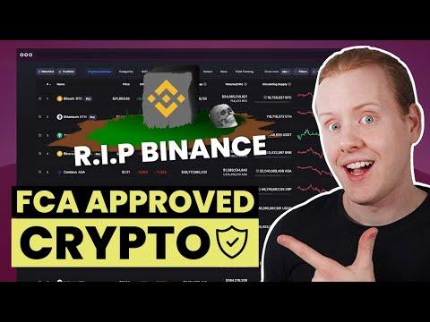 Best FCA Approved Crypto Exchanges UK (Binance Alternatives)