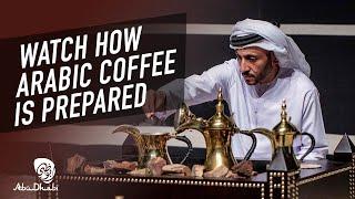 How to make Arabic coffee in Abu Dhabi | Visit Abu Dhabi