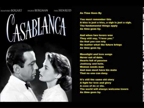Karaoke - Carly Simon -  As Time Goes By (Casablanca Theme)