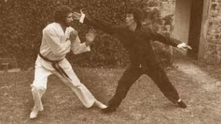 Брюс Ли vs Джеймс Коберн. Бой на заднем дворе (Редкое Видео)