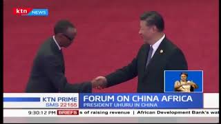 The forum on China-Africa co operation kicks off in Beijing China