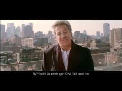 Sky Atlantic HD ad   Dustin Hoffman