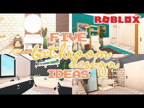 5 BATHROOM DESIGN IDEAS   Welcome to Bloxburg