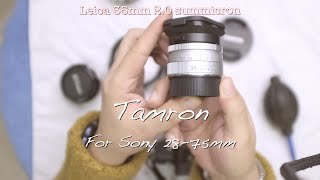 Tamron for sony 28-75mm~ 탐론 28…