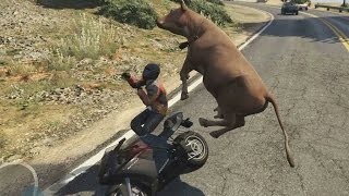 One of Criken2's most viewed videos: Grand Theft Auto V: Spirit Animals - Part 3